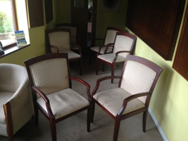 65 carver upholstered chairs