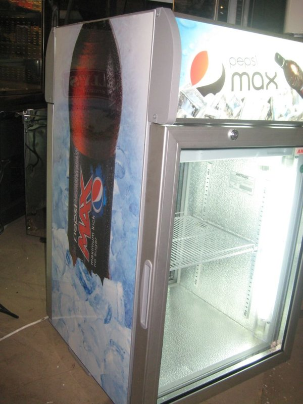 AHT Pepsi Branded Display Chiller With Twin Access