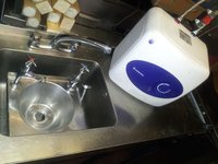 Sinks with water boiler