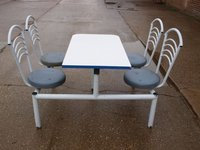 Four Seater Cafeteria Style Table & Chair Units