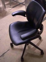 Low backed humanscale chair