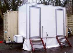1 + 1 Toilet trailer for sale