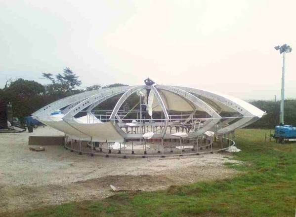 Building the UFO venue