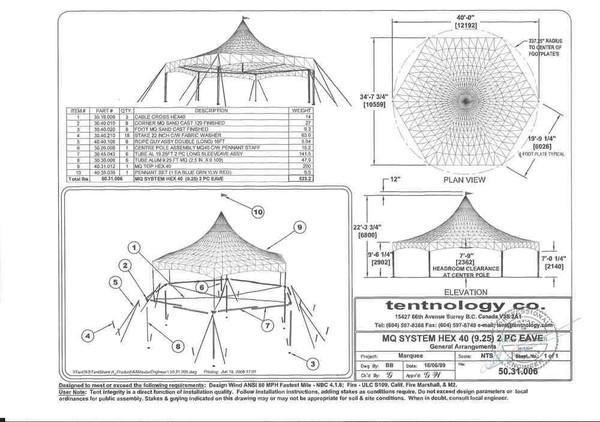 Tentnology Hex 40