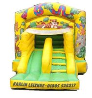 12ftx18ft slide and bounce castle