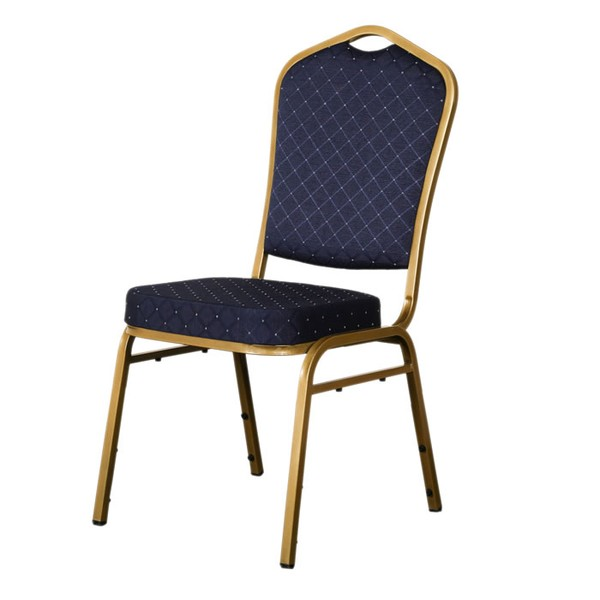 blue shield banqueting chair