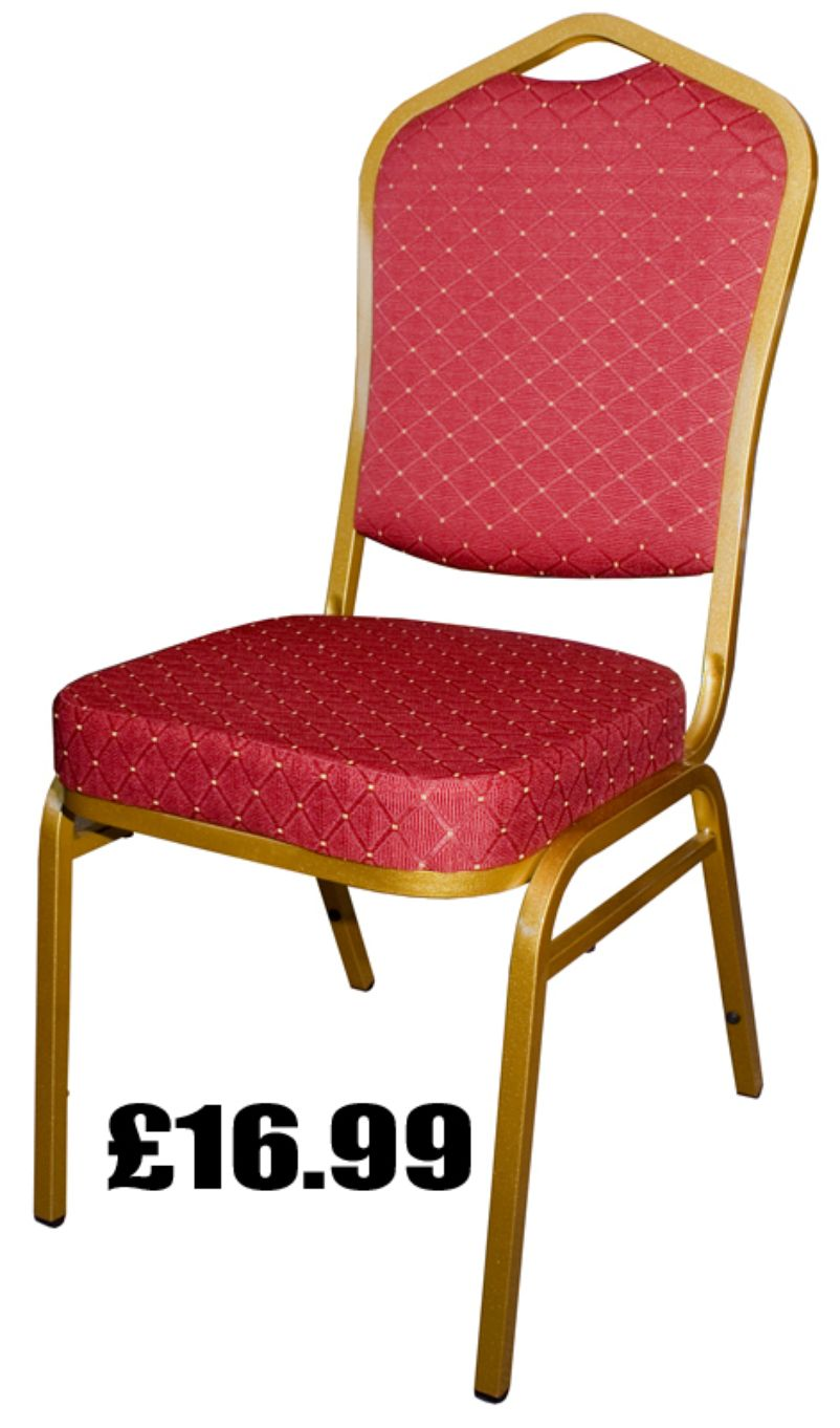 Bargain banqueting chairs