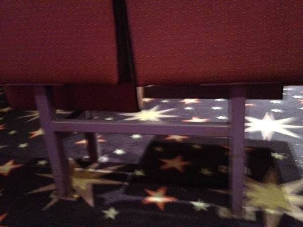 Mecca bingo hall cinema seats