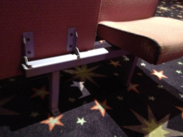 Mecca bingo hall seats