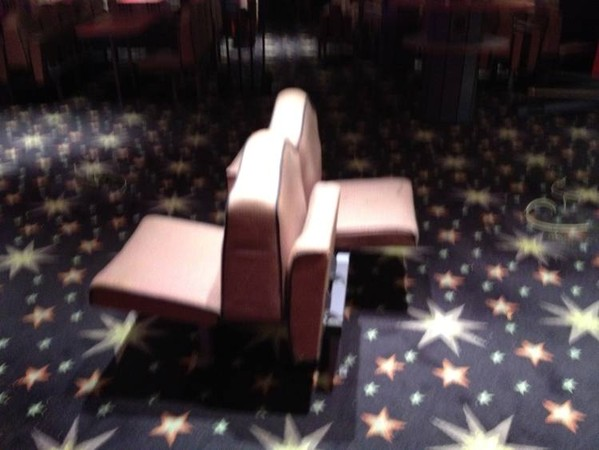 Mecca bingo hall seating