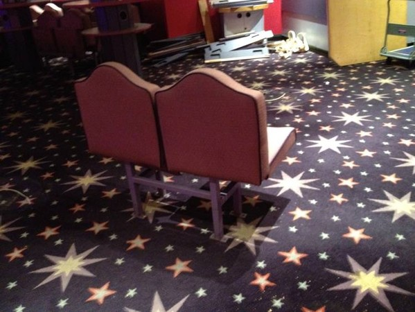 Mecca bingo hall theatre seats