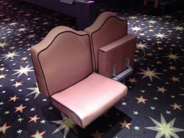 Mecca bingo hall chairs
