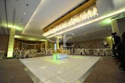 white dance floor for sale