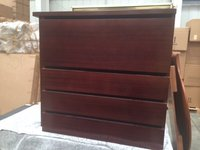 New 3 Drawer Unit with Mahogany Stain