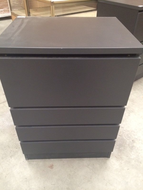 New Grey Baked Paint Finish Drawer Unit