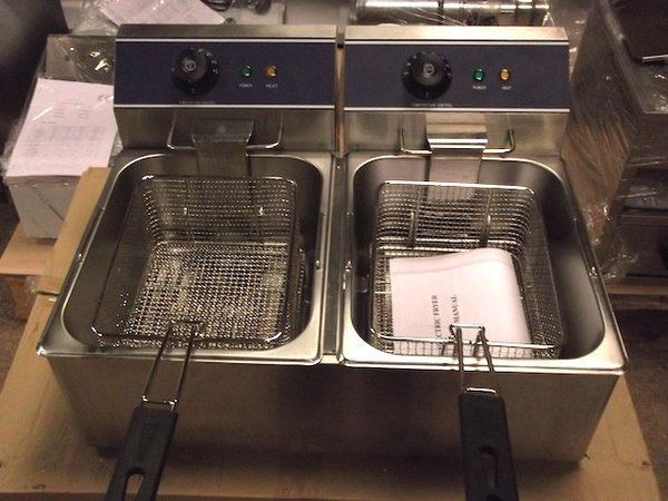 Brand New  Tabletop Double  Fryer