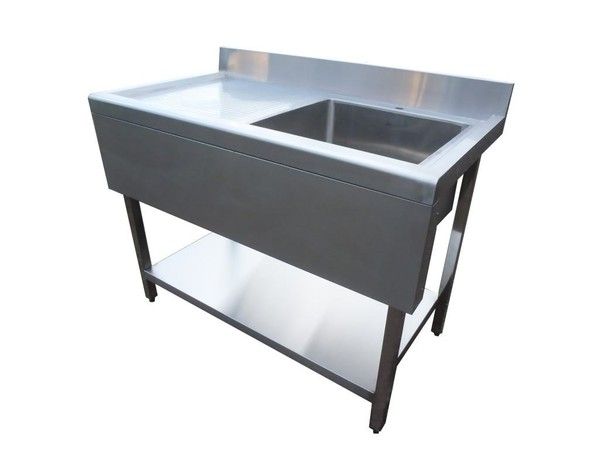 page Single Sinks Brand New 1 Mtr Stainless Steel Single Sink ...
