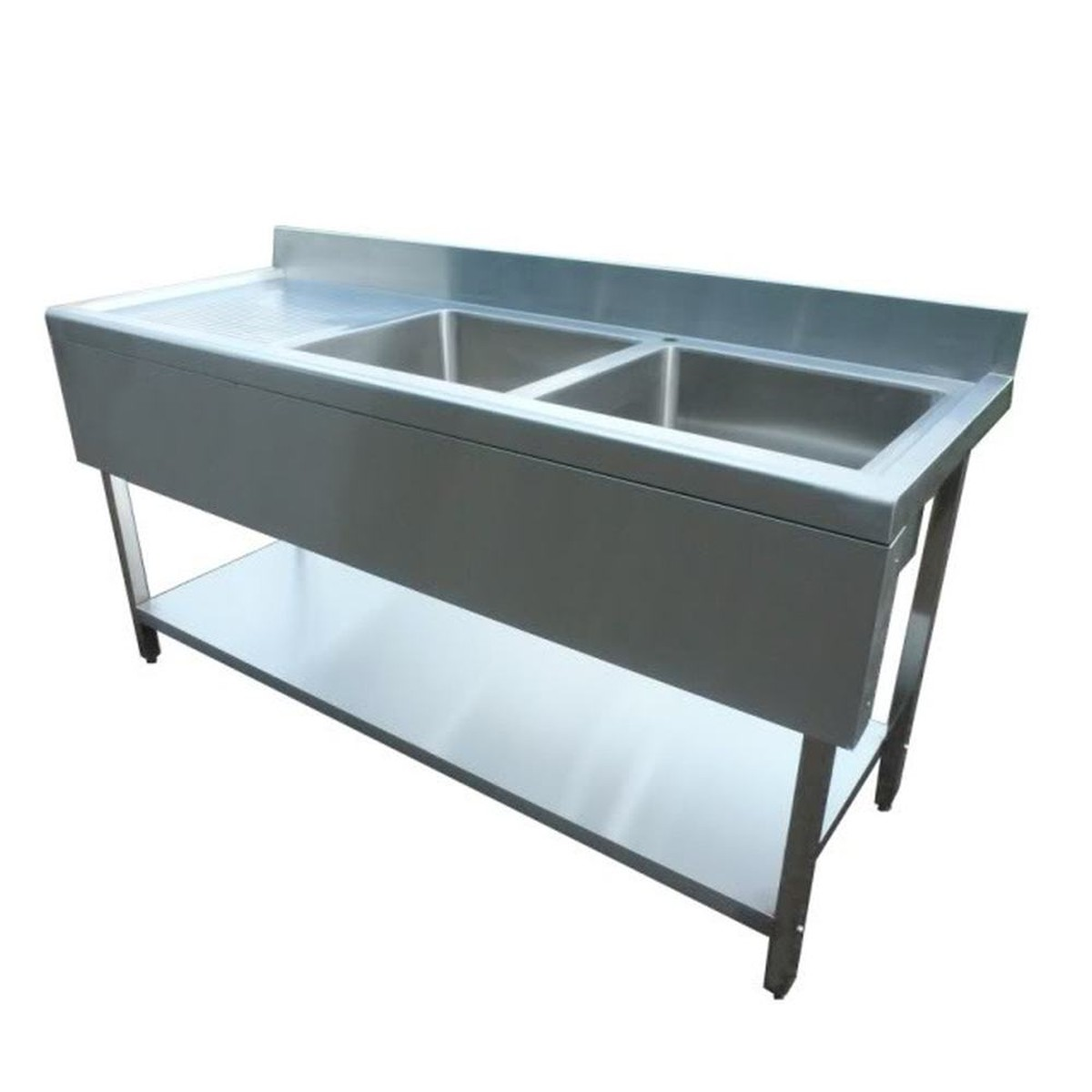 Sold Brand New Stainless Steel Double Sink with Valance (1800LDV ...