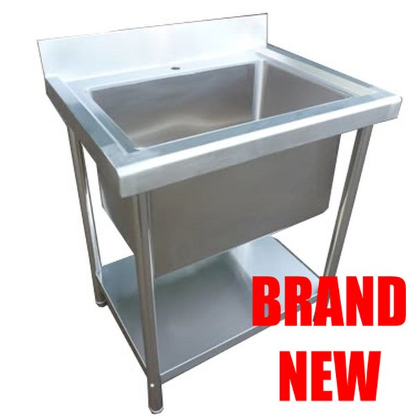 Stainless Steel Single Deep Bowl Sink for sale