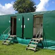 mobile toilet unit