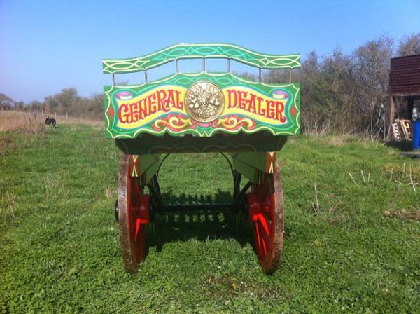 Decorative cart for sale