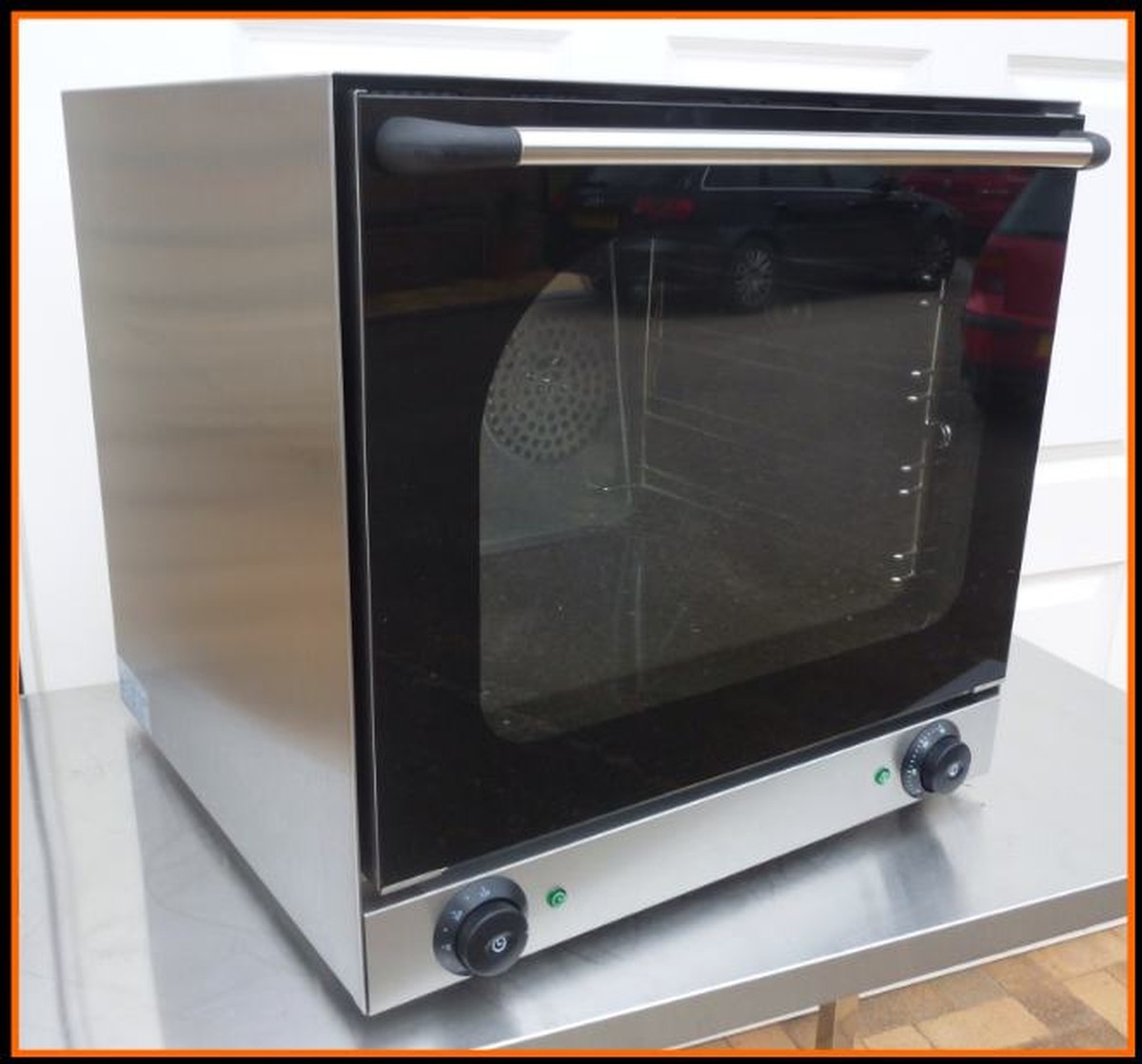Electric Convection Oven ~ Secondhand catering equipment electric ovens grid