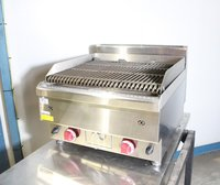 Brand New Double Burner Lava Rock Natural Gas/ LPG Gas Chargrill.