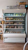 White multideck fridge