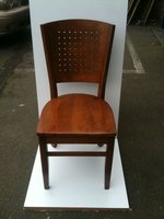 Polo Wooden Seat Dirty Oak Dining Chairs