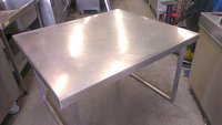 Stainless Table 120 by 105 by 78h