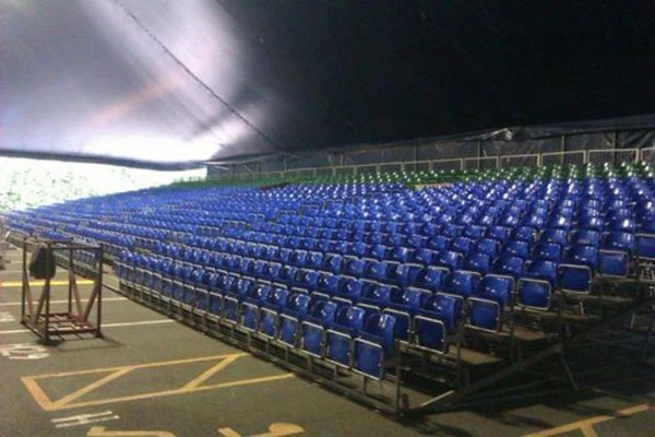 Arena Tiered Tip Up Seats