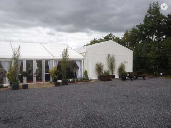 Toilet Tent marquee 9m x 6m