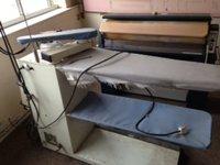Shirt ironing table