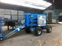 Genie 45 50 foot cherry picker 4x4 all terrain