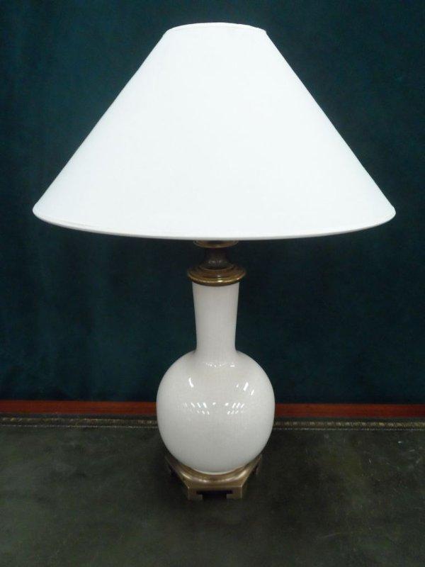 Craquelure effect lamp