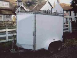 Second hand box trailer for sale
