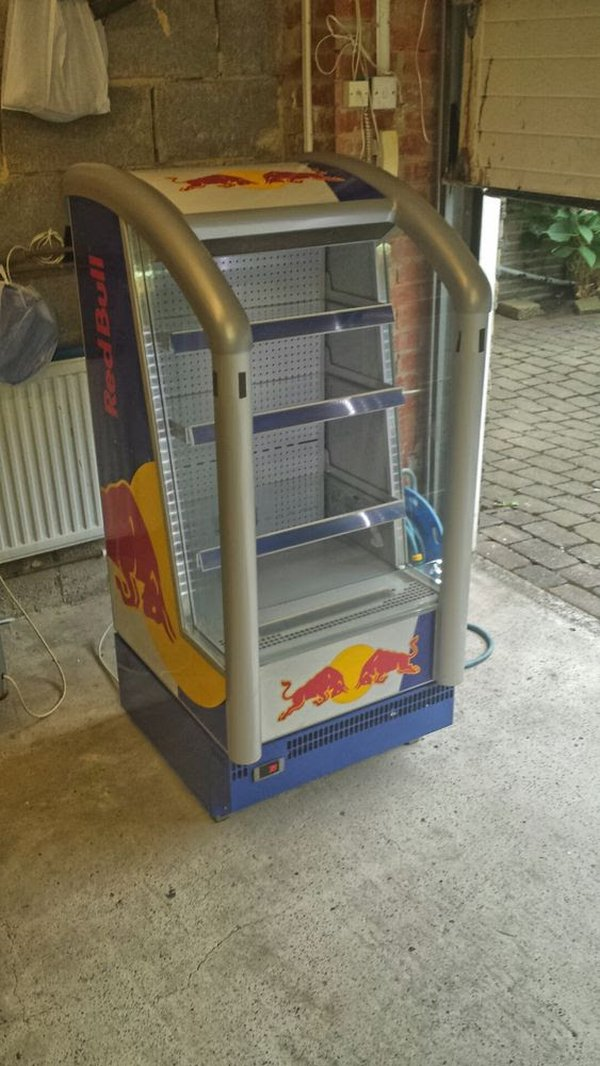 Red Bull Refrigerated Display Chiller