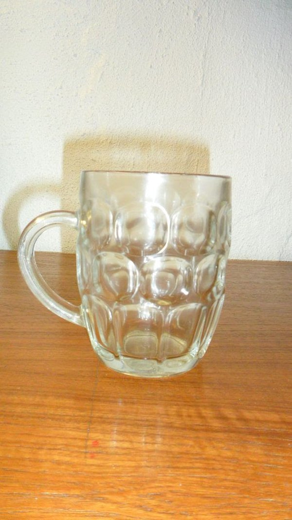 Dimple Glass Pint & half Pint Tankards