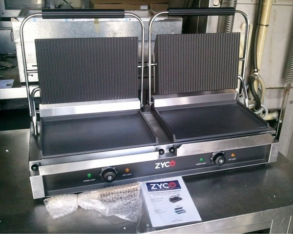 Zodiac Double Contact Grill