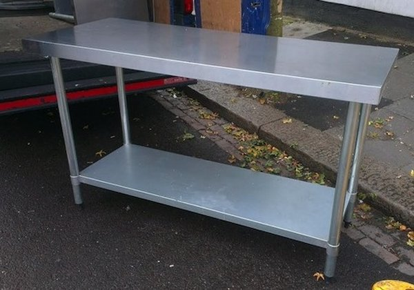 Stainless Steel Table 150 x 90 x 60