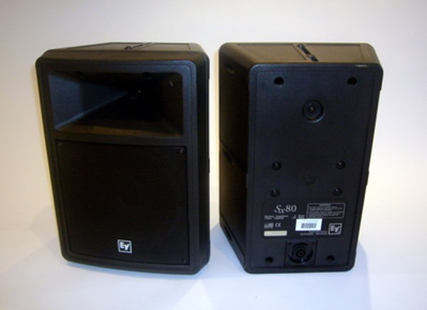 EV SX80 Loud Speakers