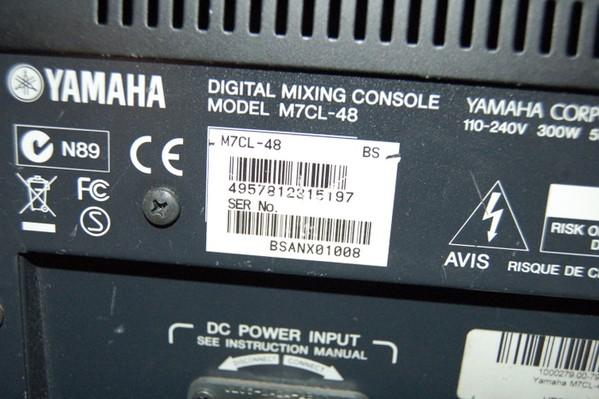 Yamaha M7 CL 48