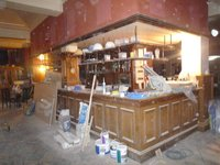 Original solid wood Pub bar available with internal storage