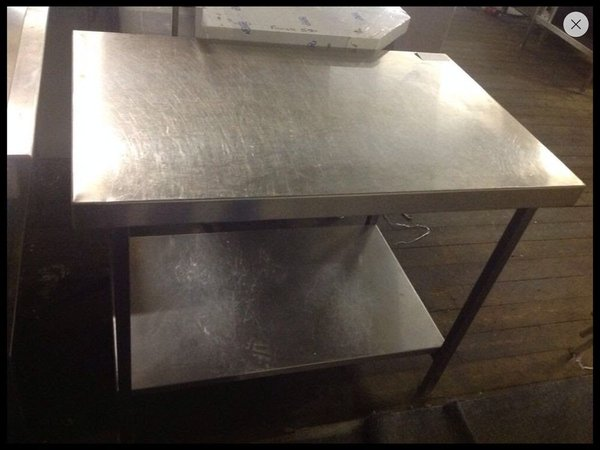 Stainless Steel Centre Work Bench