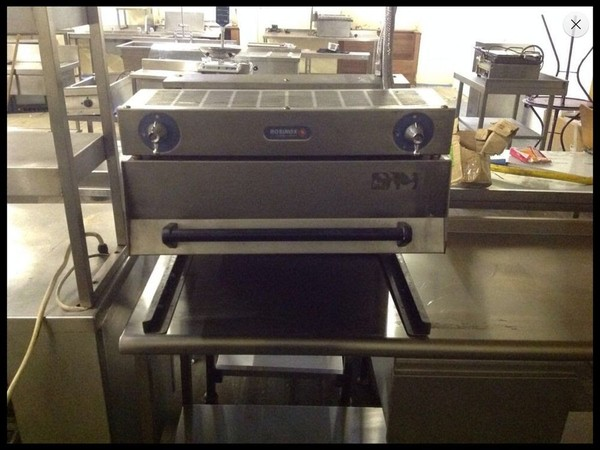 Rosinox Nat Gas Rise and Fall Grill  for sale