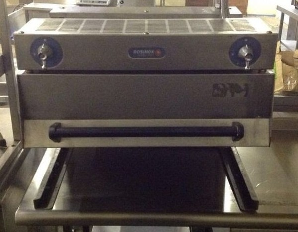 Selling Rosinox Nat Gas Rise and Fall Grill