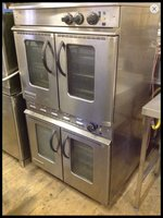Moorwood Vulcan 2 tier Convection Ovens
