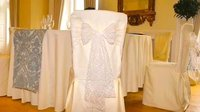 Suede Velvet Cream / Ivory Chair Covers