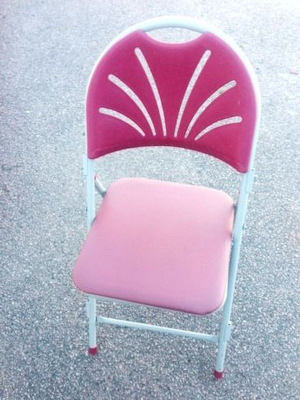 Maroon Fanback Stackable Folding Chairs with Padding