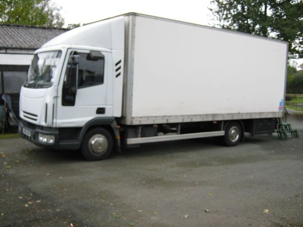Iveco 7.5 tonne lorry